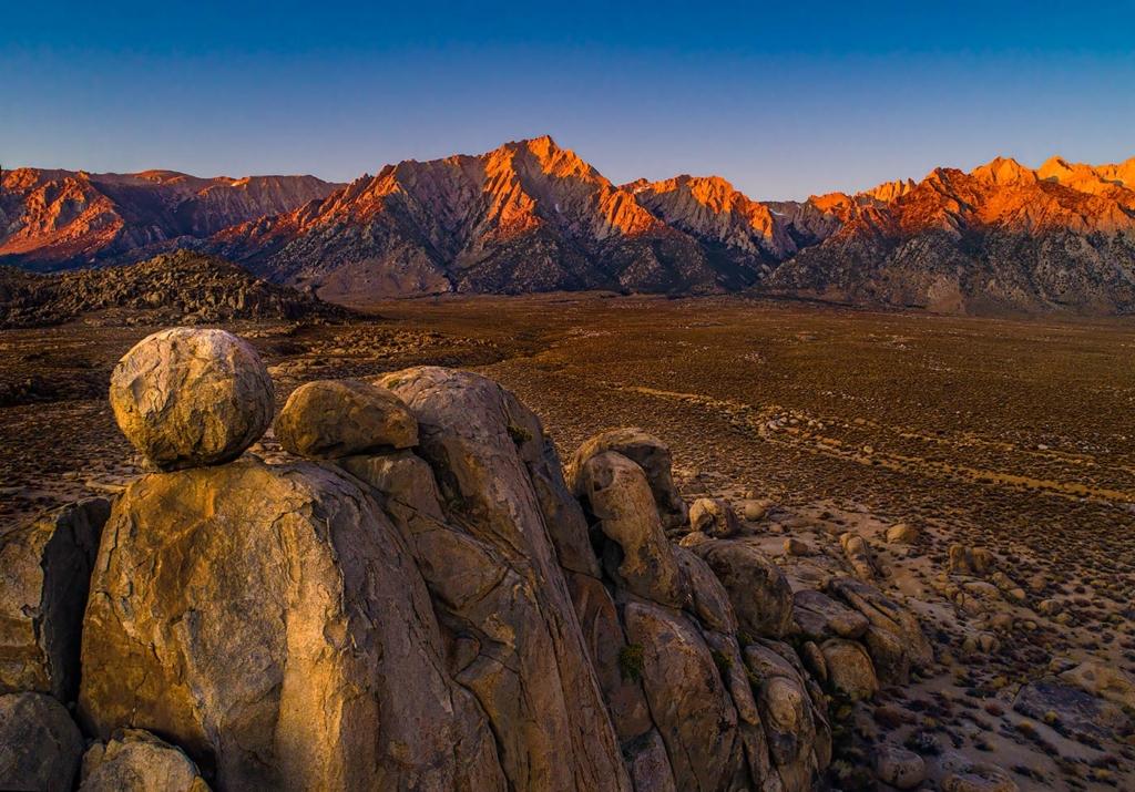 Alabama Hills and the Sierra Nevada, CA