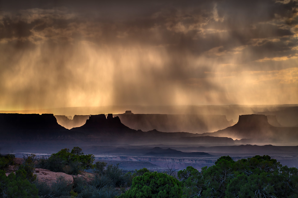Mid Day Monsoon, Canyonlands, Utah