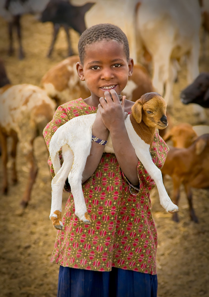 Massai Boy, Tanzania, Africa