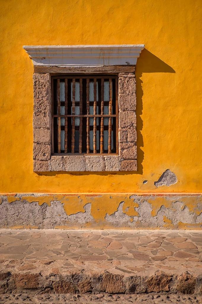 Window, La Paz, Mexico