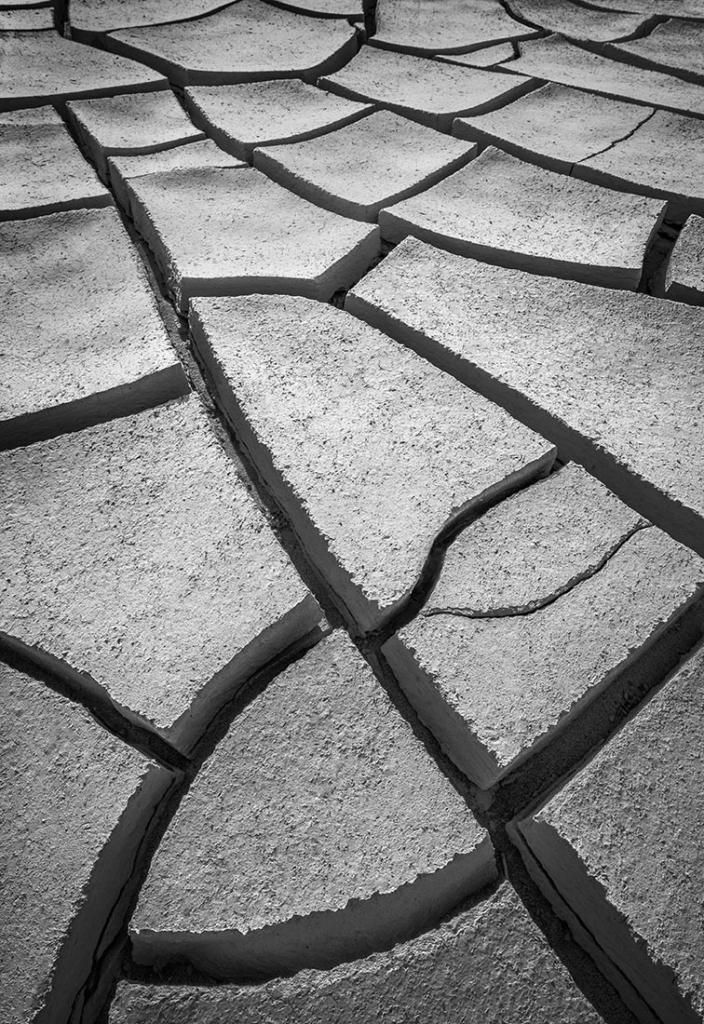 Cracks, Death Valley, CA