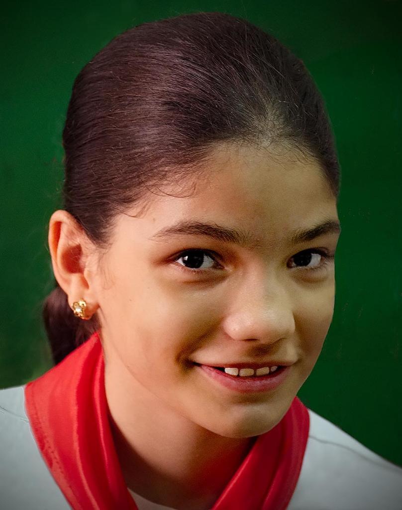 Schoolgirl, Havana, Cuba