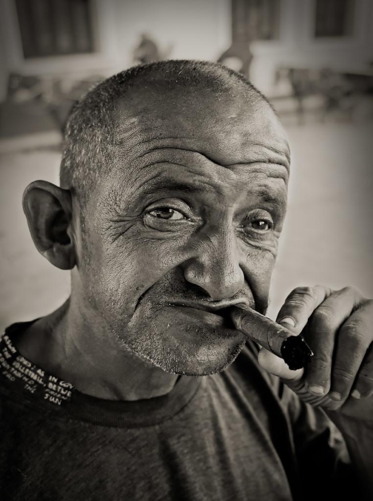 Smoker, Trinidad, Cuba