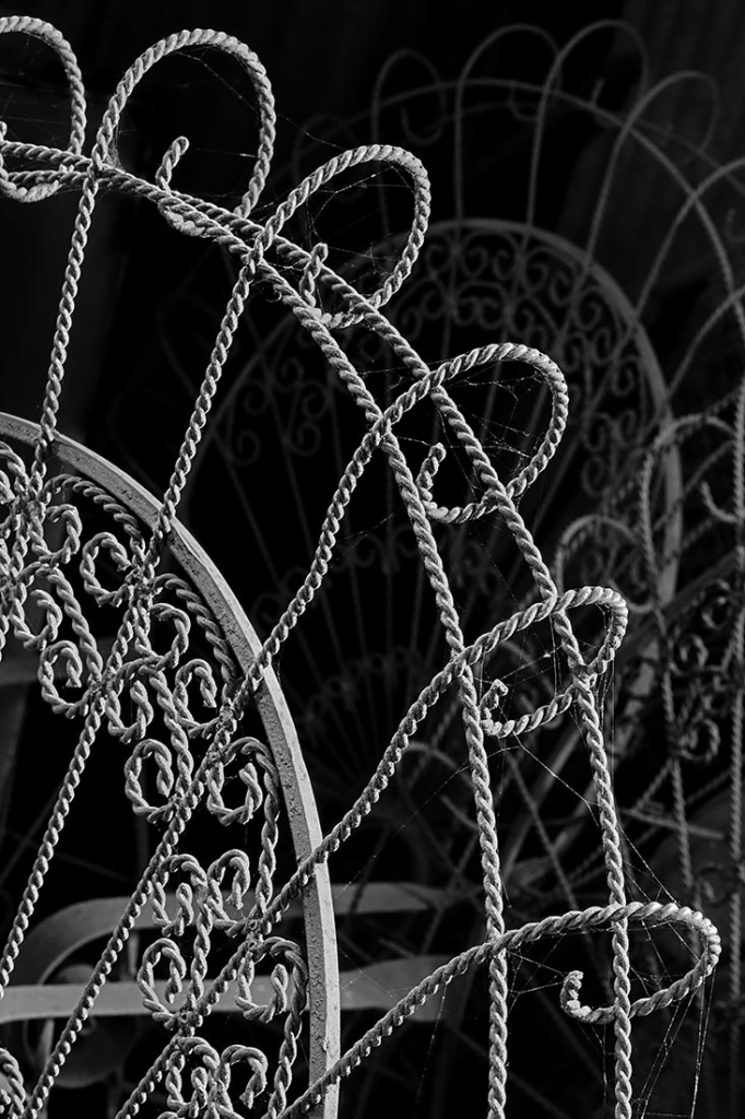 Wrought Iron Elegance