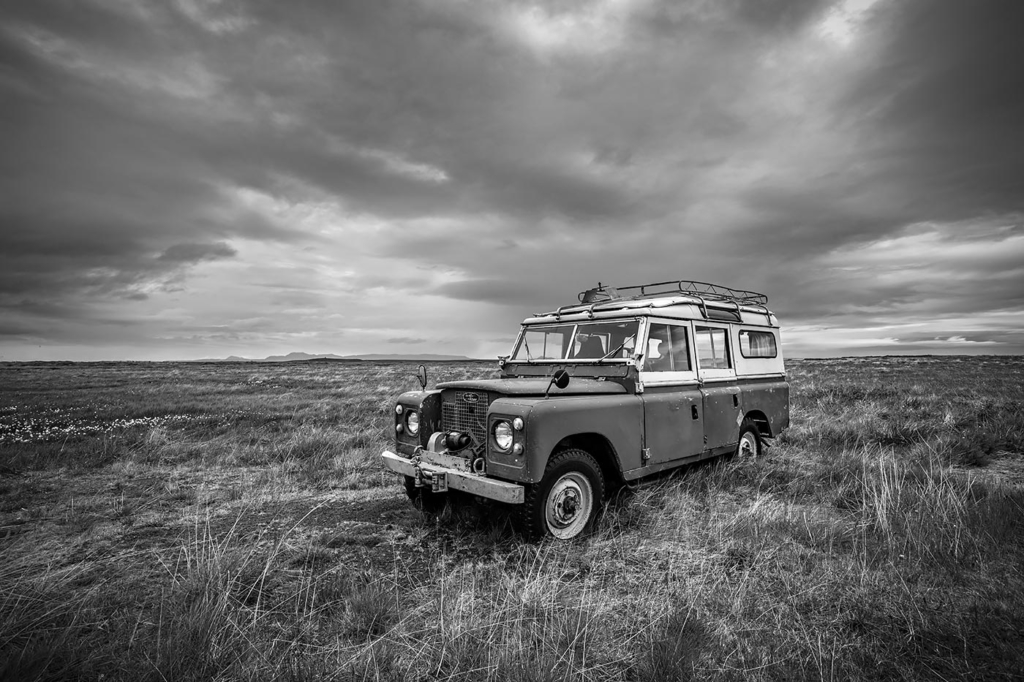 Land Rover 109, Iceland