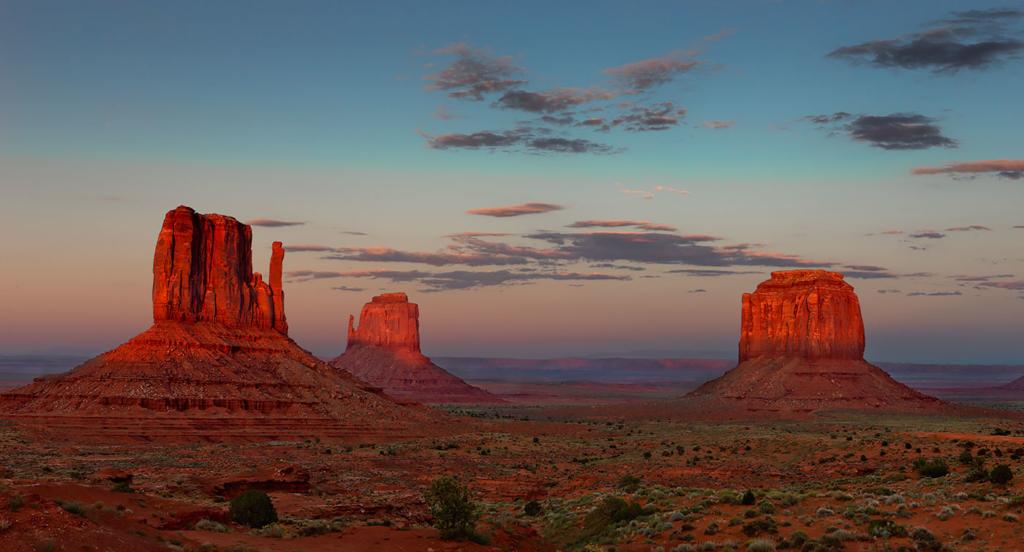 Sunset, Monument Valley, Utah