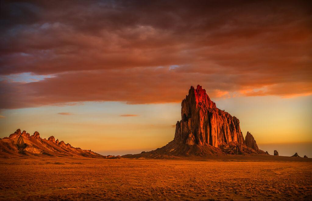 Shiprock Sunrise, New Mexico