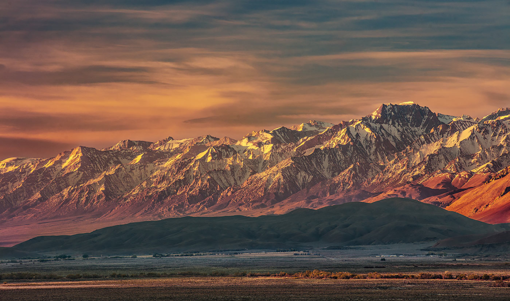 Owens Valley and the Sierra Crest, CA