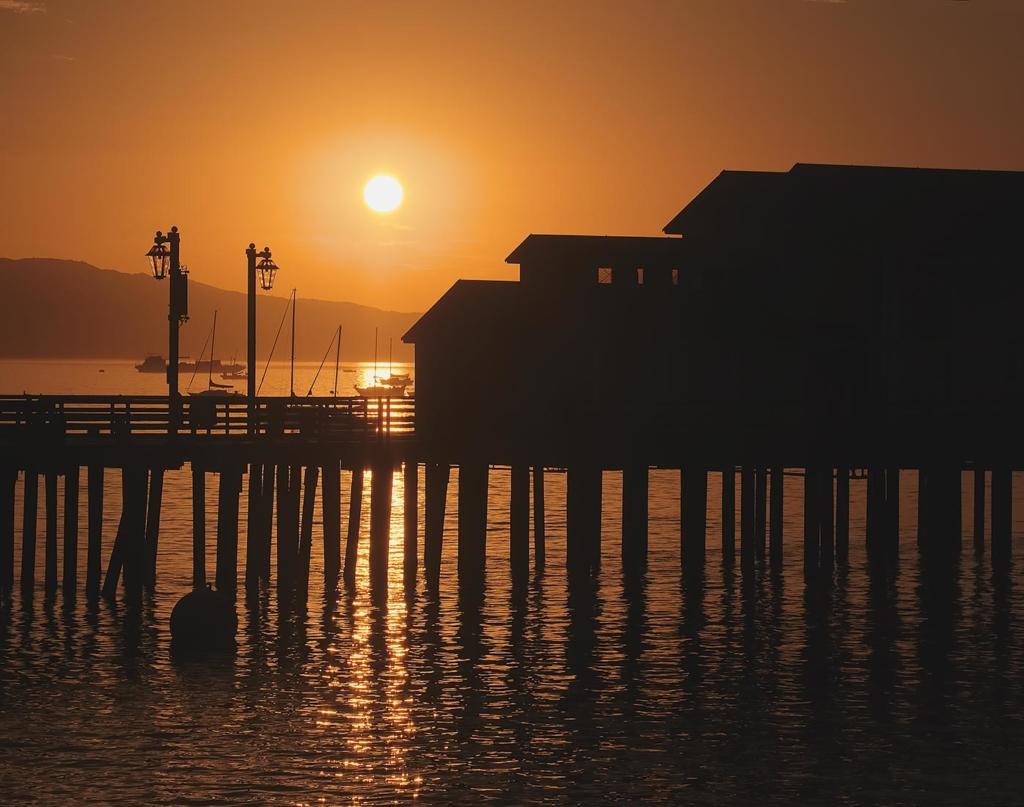 Wharf Sunrise, Santa Barbara, CA